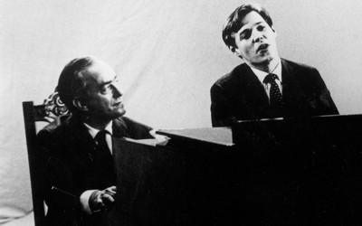 Tom Jobim e Vinicius de Moraes 1960 (Foto: Arquivo / Ag. Estado)