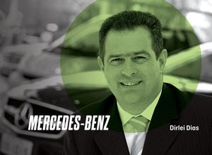 Dirlei Dias, gerente sênior de vendas e marketing da Mercedes (Foto: Divulgação)