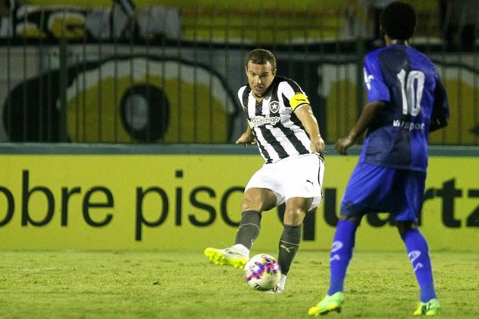 Marcelo Mattos no jogo Barra Mansa x Botafogo (Foto: Vitor Silva / SSPress)