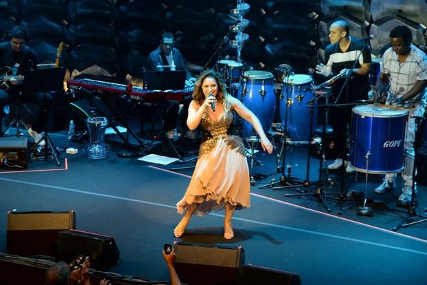 Maria Rita em show no Rio (Foto: Léo Marinho/Ag News)