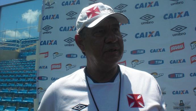 Joel Santana Treino do Vasco PV Fortaleza (Foto: Thaís Jorge)