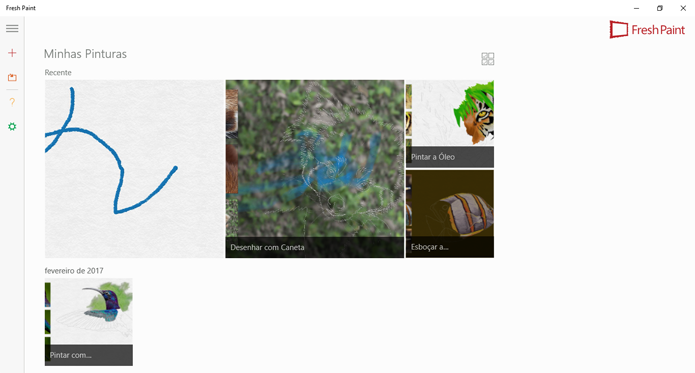 Aplicativo de pintura funciona no Windows Phone (Foto: Reprodução/Microsoft)