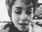 Um dia após a morte do pai, Vanessa Hudgens se prepara para 'Grease'