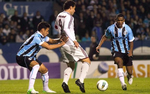 Fred, Grêmio x Fluminense (Foto: Alexandre Auler / Photocamera)