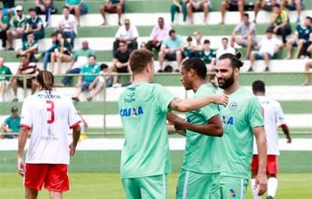 Goiás faz 2 a 0 no Brasília no último jogo antes do Campeonato Goiano
