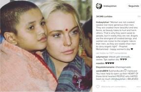 Lindsay Lohan (Foto: Instagram / Reprodução)