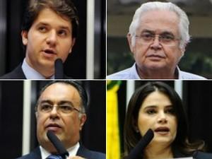 Ex-deputados viraram réus na Operação Lava Jato (Foto: Gustavo Lima/Câmara dos Deputados, Geraldo Bubniak/AGB/Estadão Conteúdo e David Ribeiro/Câmara dos Deputados)