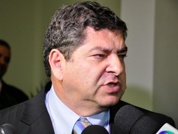 Deputado estadual Guilherme Maluf (PSDB) foi eleito presidente da ALMT. (Foto: Renê Dióz / G1)