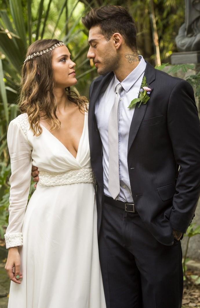 Tem casal mais lindo, gente?! Não! (Foto: João Miguel Jr./TV Globo)