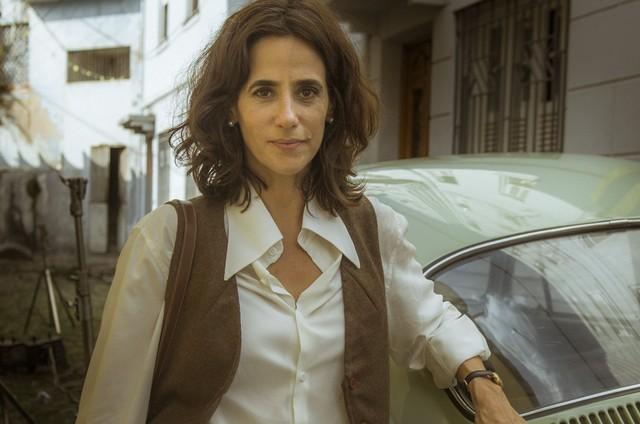 'Os dias eram assim': Mariana Lima é Natália (Foto: TV Globo)