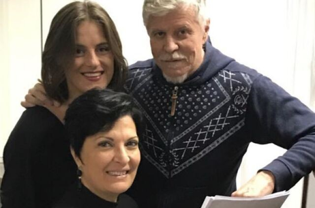 Alessandra Maestrini, Mirna Rubim e Miguel Falabella (Foto: Arquivo pessoal)