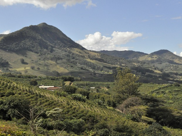 Localizada entre os planaltos de Poços de Caldas (MG), Andradas é destino certo para amantes do vinho, da escalada e do voo-livre. (Foto: Lúcia Ribeiro/ G1)