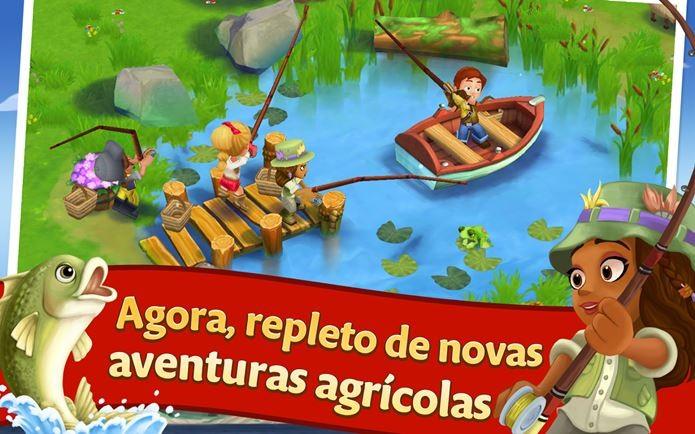 Farmville 2 chega ao iPhone, iPod Touch e iPad com modo offline (Foto: Divulgação)