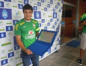 vinícius Araújo, atacante do Cruzeiro (Foto: Marco Antônio Astoni)