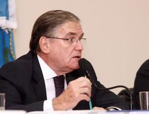 Presidente do TJD-RJ, José Teixeira Fernandes (Foto: Ursúla Nery/Agência Ferj)