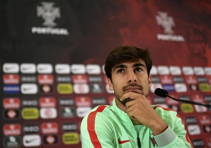 André Gomes Portugal Eurocopa (Foto: AFP)