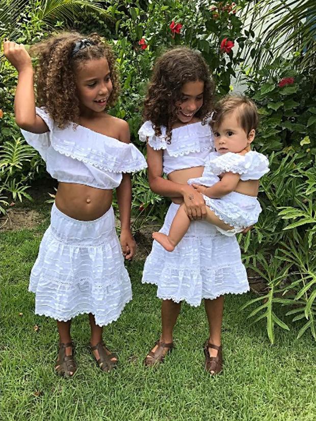 Maria Sophia, Maria Alice e Maria Júlia (Foto: Reprodução/Instagram)