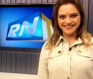 Titina Medeiros, durante entrevista na Inter TV Cabugi (Foto: Rafael Barbosa, do G1)