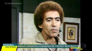 'Memória Nacional' homenageia Arnaud Rodrigues
