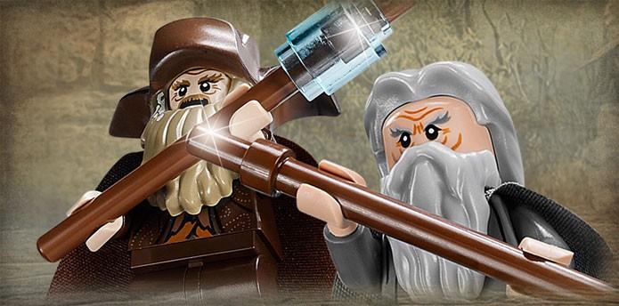 Radagast luta ao lado de Gandalf (Foto: Divulgação)