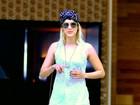 Sophia Abrahão usa calça toda rasgada em dia de shopping no Rio