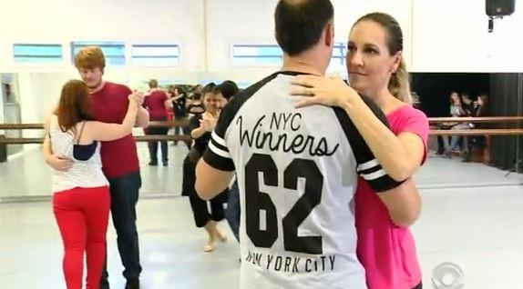 Casais aprenderam  tango (Foto: RBS TV/Divulgação)