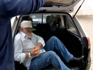Antônio José Aldrighi dos Santos foi preso temporariamente nesta segunda-feira (6) (Foto: Reprodução/TV Fronteira)