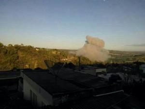 Explosão fabrica fogos de artificio Santo Antonio do Monte 2 (Foto: G1/G1)