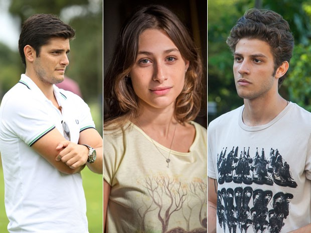 Guto vai ficar interessado em Laís (Foto: Carol Caminha/Gshow, Alex Carvalho/Globo e Artur Meninea/Gshow)