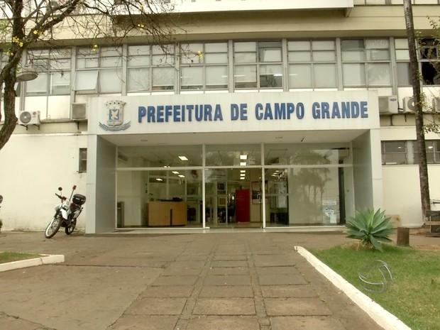 Prefeitura de Campo Grande (MS) (Foto: Reprodução/TV Morena)