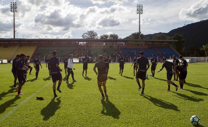 Corinthians - treino Poços de Caldas (Foto: Daniel Augusto Jr/Ag. Corinthians)
