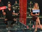 Bruno Gagliasso e Giovanna Ewbank respondem a perguntas sobre a hora H