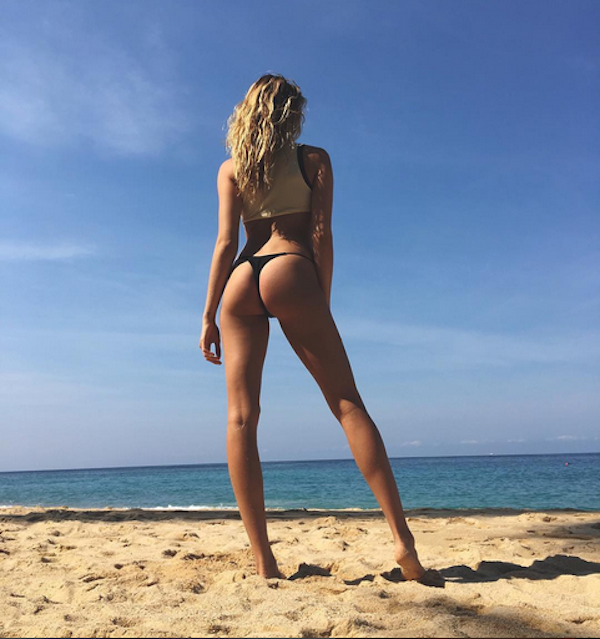A modelo Hailey Clauson (Foto: Instagram)