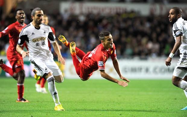 Phillipe Coutinho Swansea e Liverpool (Foto: Agência Reuters)