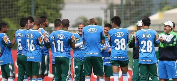 Gilson kleina treino Palmeiras (Foto: Cesar Greco / Ag. Estado)