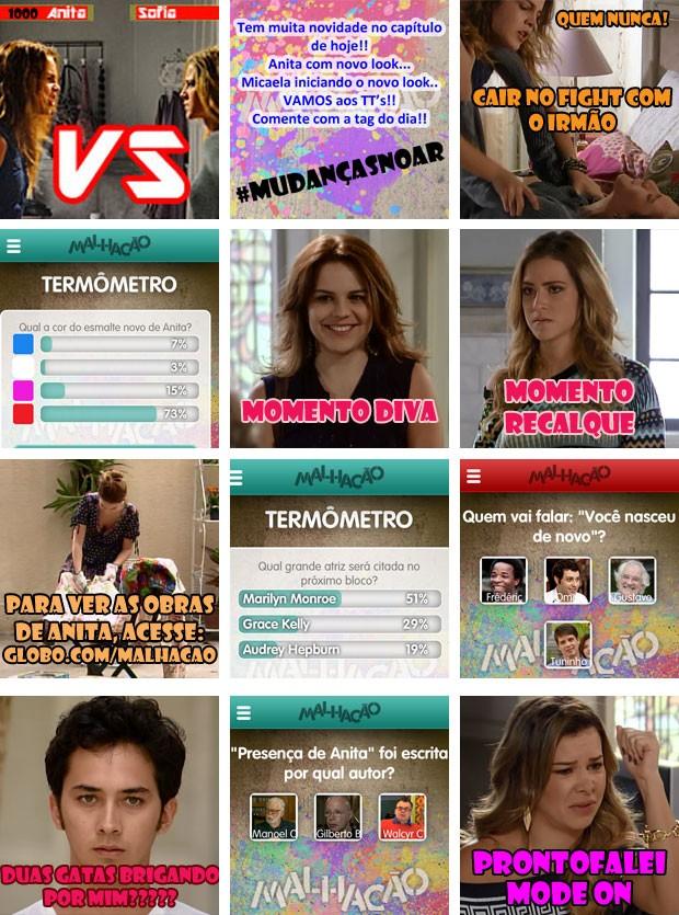 crônica capítulo 51 app (Foto: Malhação / TV Globo)
