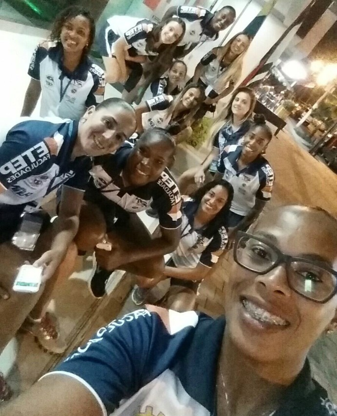 São José futebol feminino (Foto: Arquivo pessoal/Djenifer Becker)
