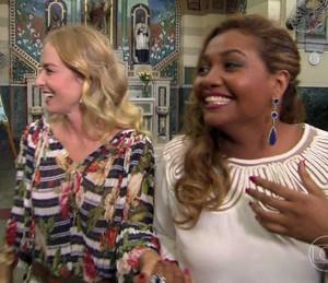 Angélica prepara surpresa para cantora (Foto: TV Globo)