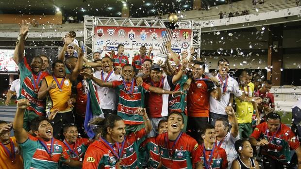 Cametá é o atual detentor do título do Campeonato Paraense (Foto  Marcelo  Seabra  c09e5f96e0a5d