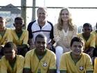 Zico palpita placar de jogos do Brasil na Copa e é só elogios a Felipão