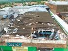 Drone mostra estragos causados por temporal em cidade de MS; veja vídeo