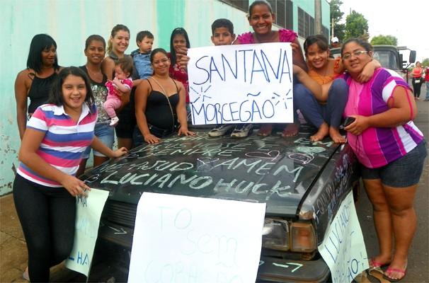 O Santana 85, 'morcegão' de Renata Antônia dos Santos  (Foto: Daniela Rezende/EPTV)