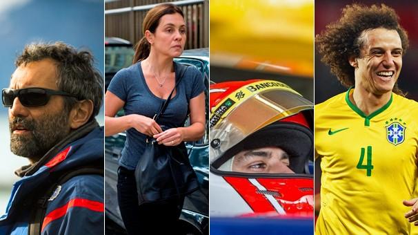 Em março, as novelas Sete Vidas e Babilônia estreiam, a Fórmula 1 está de volta com mais um brasileiro e a Seleção enfrenta a França (Foto: Globo e globoesporte.com)