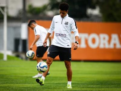 Marquinhos Gabriel Santos (Foto: Ricardo Saibun / Santos FC)