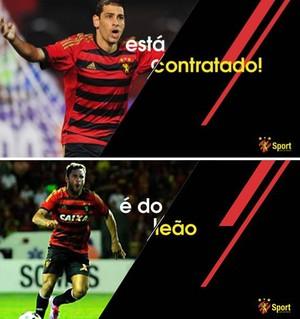 diego souza íbson sport (Foto: Divulgação)