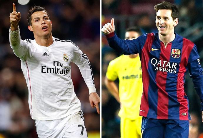 c31d74ecf9101 Messi supera CR7 em votação feita com personalidades do futebol inglês