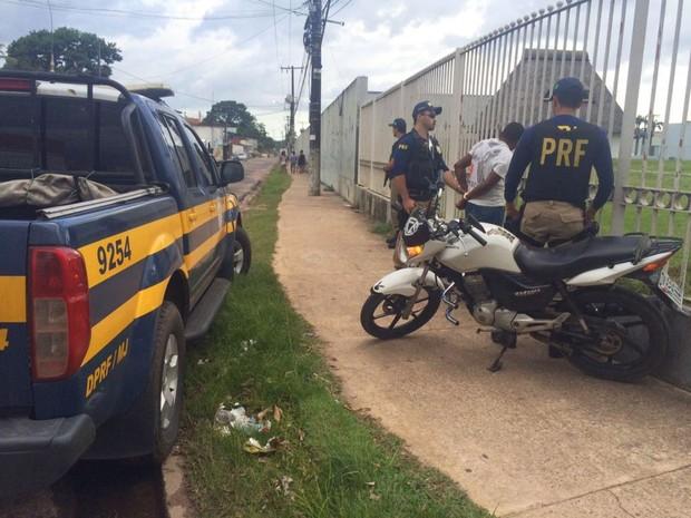 Prisão no bairro Castanheira (Foto: Ascom/PC)