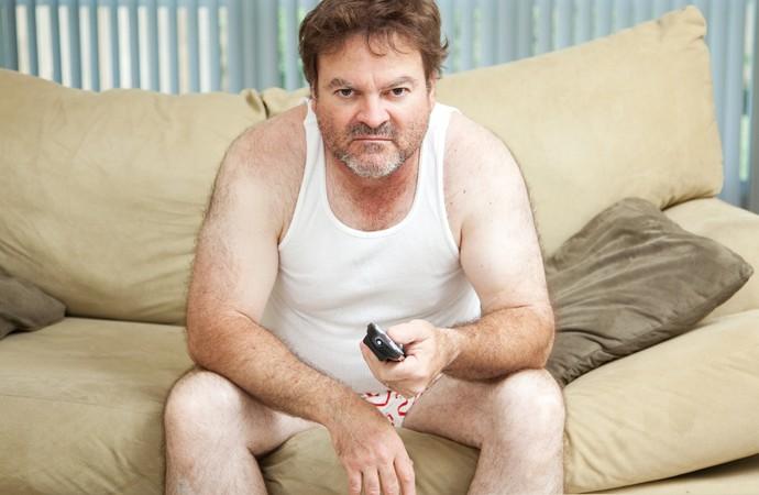 Homem stress sobrepeso (Foto: iStock Photo)