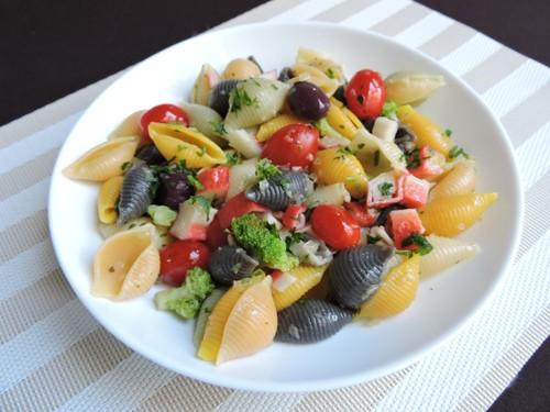 Salada de macarrão dos foliões