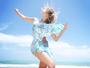 Karina Bacchi exibe pernões em foto na rede social
